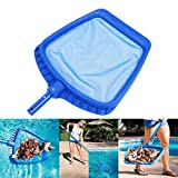Swimming Pool Skimmer Net, Professional Leaf Rake Mesh Frame Net Skimmer Cleaner Swimming Pool Spa Tool, Pool Maintenance Kits Patio, Lawn & Garden, Hot Tubs Supplies Cleaning Tools (Blue)