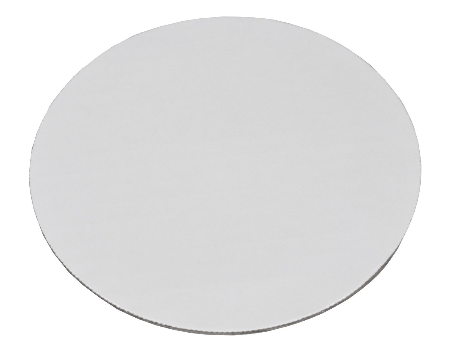 Southern Champion Tray 11217 10'' Corrugated Single Wall Cake and Pizza Circle, Greaseproof, White (Case of 100)