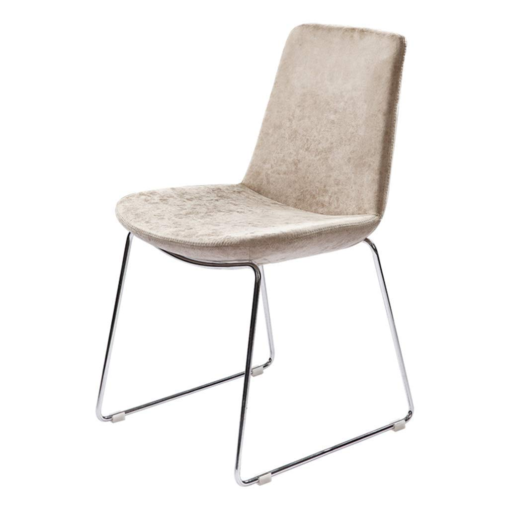 Modern Minimalist Dining Chair Restaurant Cafe Hotel Chair Study Chair Dressing Chair Leather Art Nordic Chair