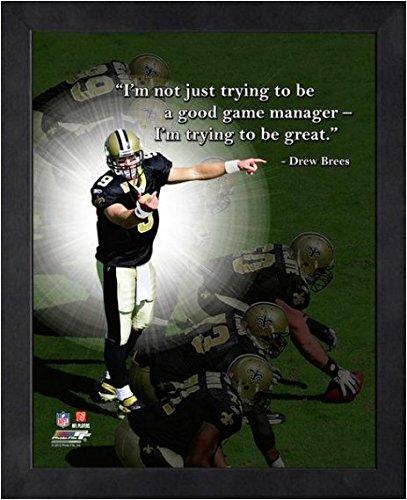Amazon.com: Drew Brees New Orleans Saints NFL framed Pro ...