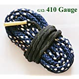 New Bore Snake Cleaning Shotgun Gun 410 GA Gauge Boresnake Rfile Barrel Cleaner Kit