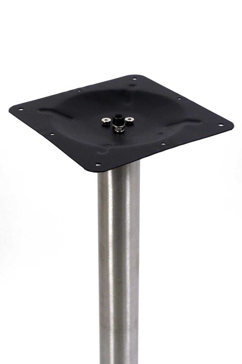 piede rotondoSaarbr/ücken struttura in acciaio inossidabile telaio per tavolo con base in poliresina 72 cm Base per tavolo