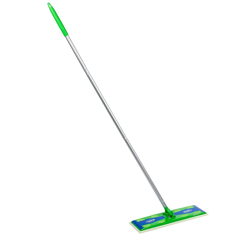 Swiffer Max Sweeper Mop, 17-Inch Wide Floor Mop (Pack of 3)