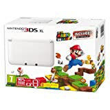 Nintendo Handheld Console 3DS XL - White Limited Edition with Super Mario 3D Land (Nintendo 3DS) by Nintendo