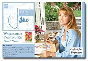 Paint with Jane- Watercolor Starter Kit with Jane Seymour