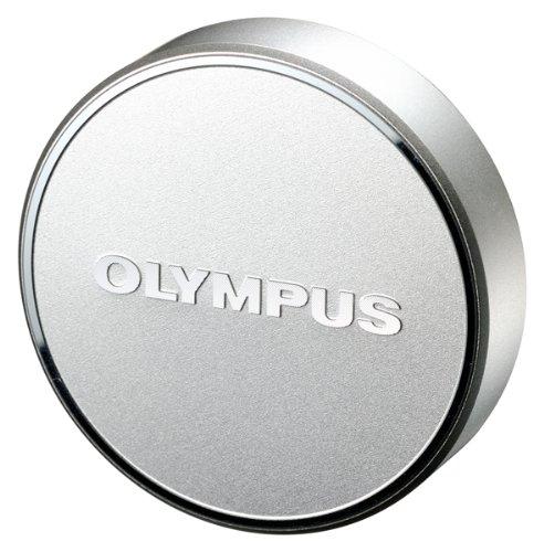 Olympus LC-48B Metal Lens Cap for M.Zuiko Digital 17mm 1:1.8 Lens (Silver) by Olympus