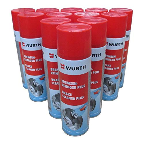 wurth brake cleaner plus 500 ml x 12