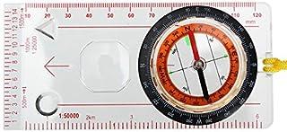 PhilMat Compas d'échelle extérieure baseplate souverain carte scouts camping randonnée kit