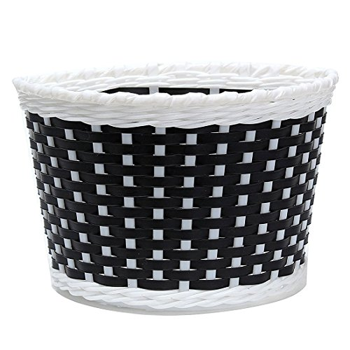 TOOGOO(R) Children Bicycle basket Shopping basket Luggage carrier Handlebar basket Bike handle basket black
