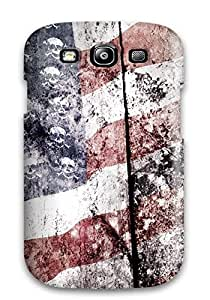 Defender Case With Nice Appearance (american Flags Misc) For Galaxy S3