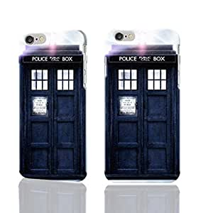 """Doctor Who Tardis 3D iphone 6 -4.7 inches Case Skin, fashion design image custom iPhone 6 - 4.7 inches , durable iphone 6 hard 3D case cover for iphone 6 (4.7""""), Case New Design By Codystore"""