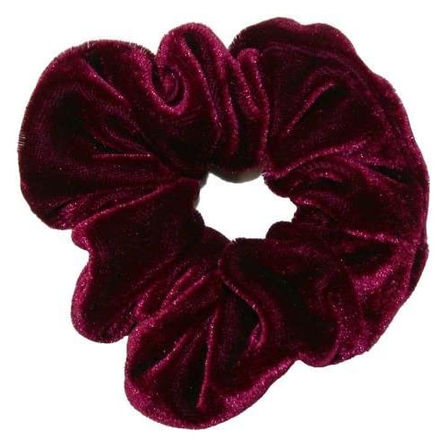 Smoothies Velvet Scrunchie-burgundy 00687