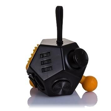Dam Anti Con Cube Dmv095black Relajante Fidget Estrés 12 Módulos yvO8n0wmN