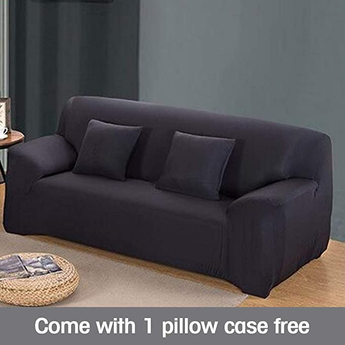 Amazon.com: Funda para sofá elastizada, 9 colores 4 ...