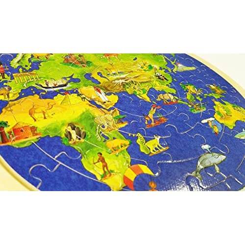 50off puzzle world map wooden childrens educational early 50off puzzle world map wooden childrens educational early childhood jigsaw wooden puzzle 57p gumiabroncs Images
