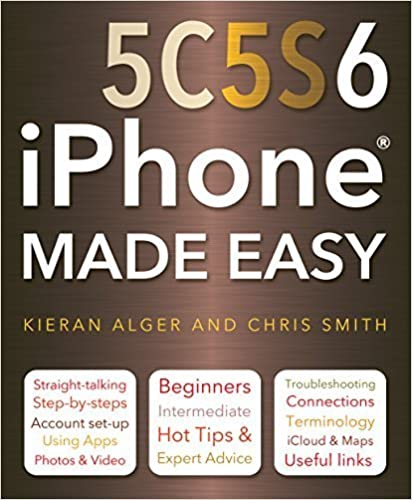 Book iPhone 5C, 5S and 6 Made Easy by Chris Smith (2015-05-10)
