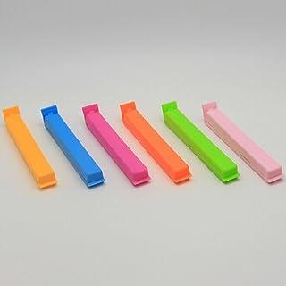 TFXWERWS Clips de plástico Sellado Bolsa de Almacenamiento de Alimentos Clips Set de 6