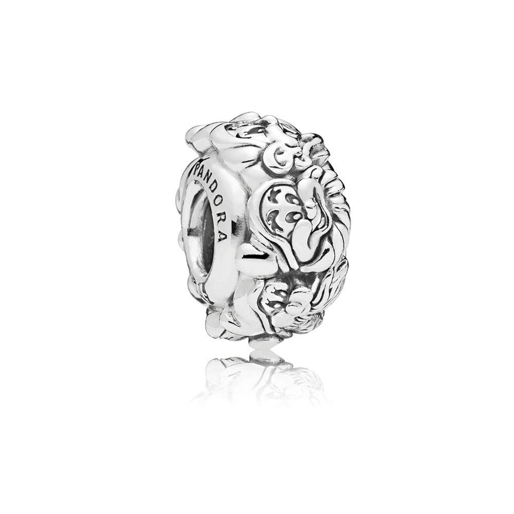 Pandora Disney The Seven Dwarfs All Around Spacer Silver One Size Charm 797491