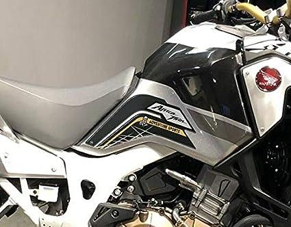 2 Seitenschutz 3d Gel Kompatibel X Motorrad Honda Africa Twin Adventure 2019 Auto