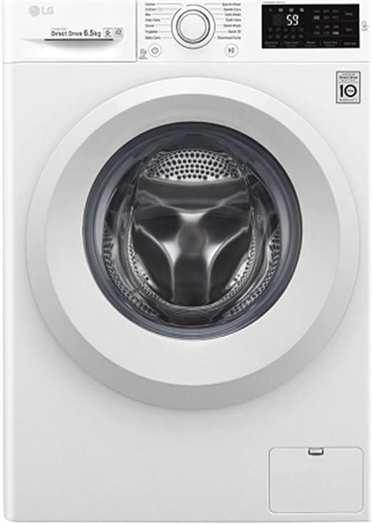 Lg lavadora carga frontal f2j5wn3w 6.5kg 1200rpm a+++: 265.96 ...