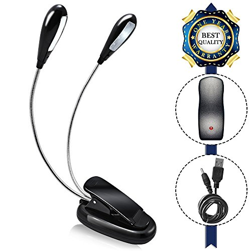 AFUNTA Rechargeable flexible adjustable dimmable