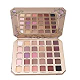 A fine gift 30-colour eyeshadow palette, professional eye palette, make-up palette, cosmetics