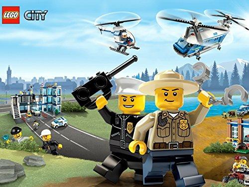 Lego City Police Forest Rangers Kids Art Print Poster