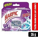 Harpic Canastilla Frescura Activa para Baño, Lavanda, 35g