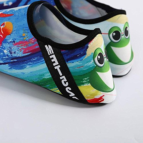 Shoes 250mm Aolvo Slip 39 Beach Water Dry for Aqua Barefoot Shoes Yoga Quick Diving Women Kids Socks Sports on 38 Men xRx1qrw