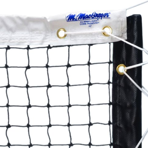 MacGregor Super Pro 5000 Poly Tennis Net, 42-feet ()