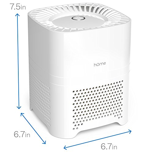 Homelabs 3 In 1 Ionic Air Purifier With Hepa Filter