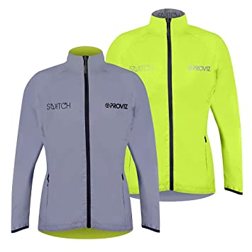 Proviz Women s Switch Reflective Cycling Jacket  Amazon.co.uk ... c32b44960