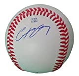 New York Yankees Chris Carter Autographed Hand Signed Baseball with Proof Photo, Milwaukee Brewers, Houston Astros, Oakland Athletics, COA
