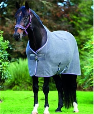 Horseware Rambo Deluxe Fleece 78 Charcoal by Rambo Blankets