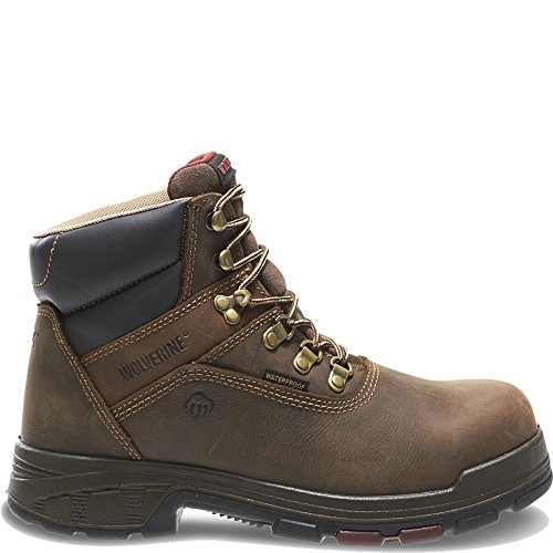 Wolverine Lace Boots - Wolverine Cabor EPX Waterproof Composite Toe 6