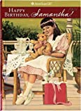 Happy Birthday, Samantha!: a Springtime Story by Valerie Tripp front cover