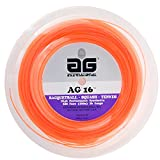 AG 16 Synthetic Gut Tennis String Reel-16-Orange