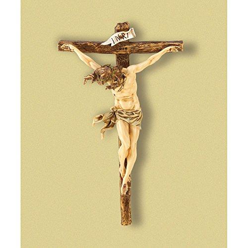 GHP Large 20 Wall Cross Big Christian Religious Crucifix Jesus Statue