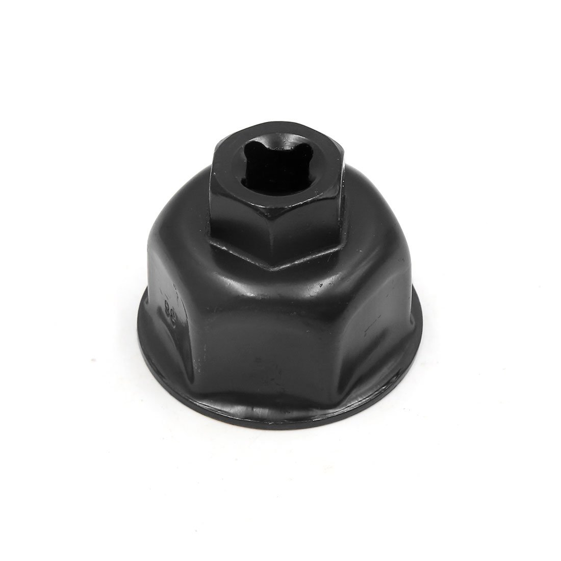 uxcell Black Metal 36mm Inner Dia Car Oil Filter Cap Wrench Socket Remover for Audi A6L