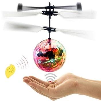 MezzenoMini Drone RC helicóptero Bola voladora Juguete Volador ...