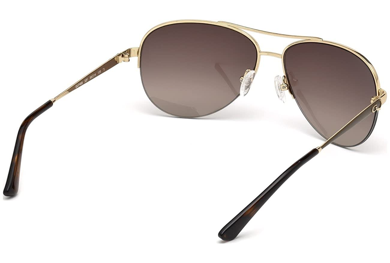Guess Sonnenbrille (GU7468) Gold (Gold/Gradient Brown) 59