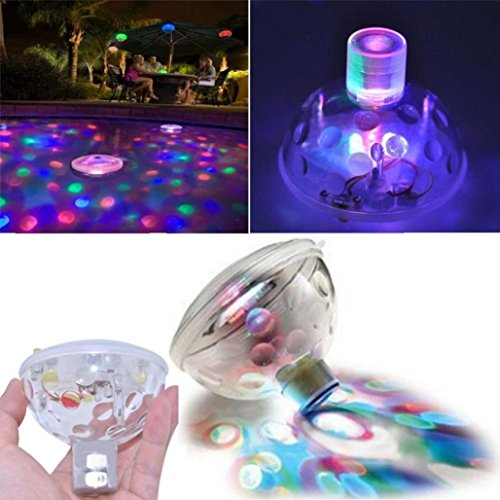 Floating Disco Underwater Led Light Show - 9