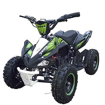 Quad ATV Eléctrico infantil todo terreno de alto rendimiento Sherpa TOX 1000W - Motor Hi-speed Brushed - 45Km/h MAX -