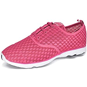 DOTACOKO Men Women Quick Drying Aqua Water Shoes Athletic Sport Lightweight Slip On Walking Shoes Beach