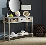 Safavieh American Homes Collection Christa Winter Melody Console Table with Storage