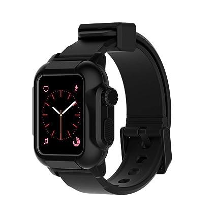 pretty nice b5159 43dad Amazon.com: for Apple Watch Series 1\2\3 42mm Case, SHUDAGE ...