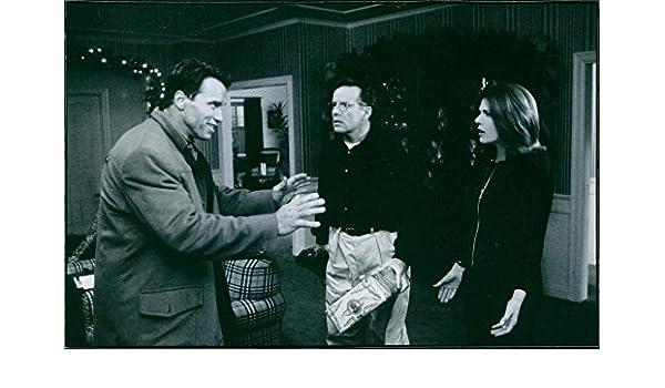Vintage foto de una foto de la película de Jingle All The Way protagonizada por Arnold Schwarzenegger, Rita Wilson y Phil Hartman. 1996: Amazon.es: Hogar