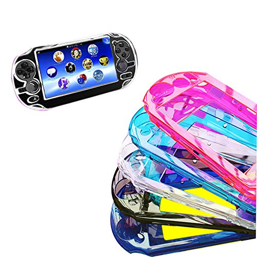 futurecos PS Vita Skin Case Cover Hard Crystal Protective Case Cover for Playstation Vita 2000 PSV 2000 Clear Blue