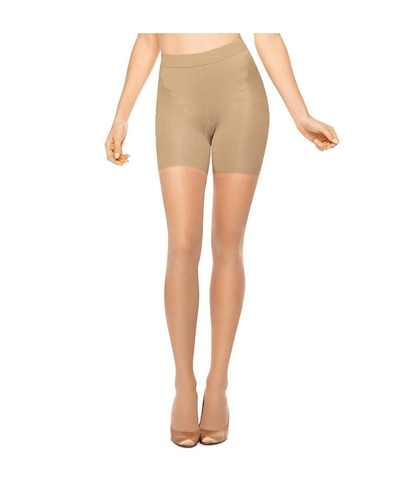 66a53eb16 SPANX All The Way with Leg Support Pantyhose Hosiery at Amazon Women s  Clothing store  Spanx Hose