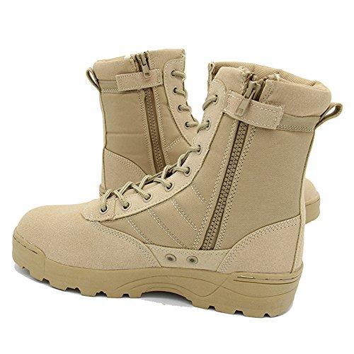 Chic zapatos De Senderismo Senderismo De Hombre Impermeable Cuero Botas Ligeras 5646b7
